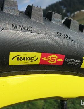 Mavic Crossmax WTS Charge front tyre