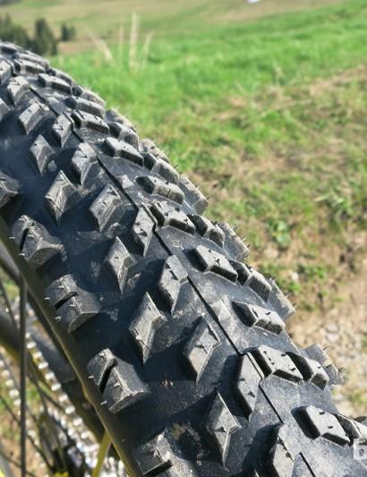 Mavic Crossmax WTS rear wheel and tyre