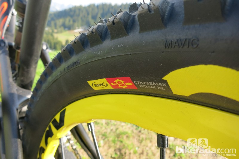 Mavic Crossmax WTS rear Roam XL tyre