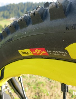 Mavic Crossmax WTS rear Roam XL tyre