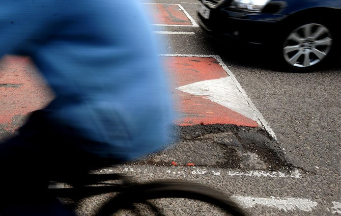 The CTC say money should be spent fixing roads