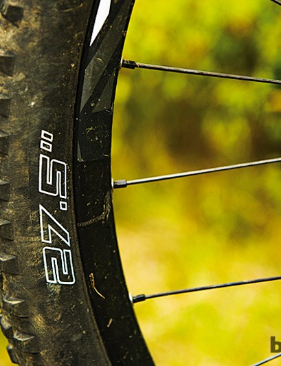 The Scott makes the most of the in-between 27.5in (650b) wheel size advantages