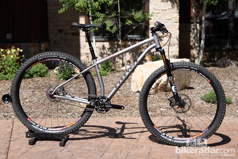 Niner's new ROS 9 is an aggressive chromoly steel hardtail with slack angles and designed for a 120-140mm travel fork