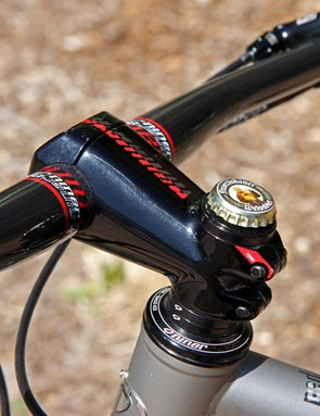 Niner's new Trail stem isn't particularly light at 180-215g but it looks stout and sturdy