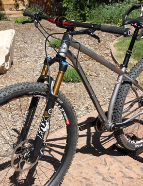 Niner intends its new ROS 9 to be used with 120-140mm travel forks