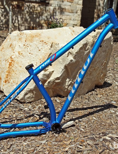 The new Niner ROS 9 is also available in this glimmering blue hue