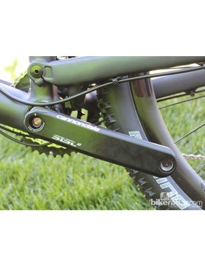 Cannondale Si SL2 cranks are identical for road and mountain use