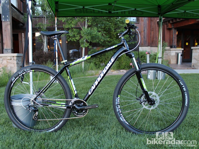 The Cannondale Trail 29er hardtail starts at US$699