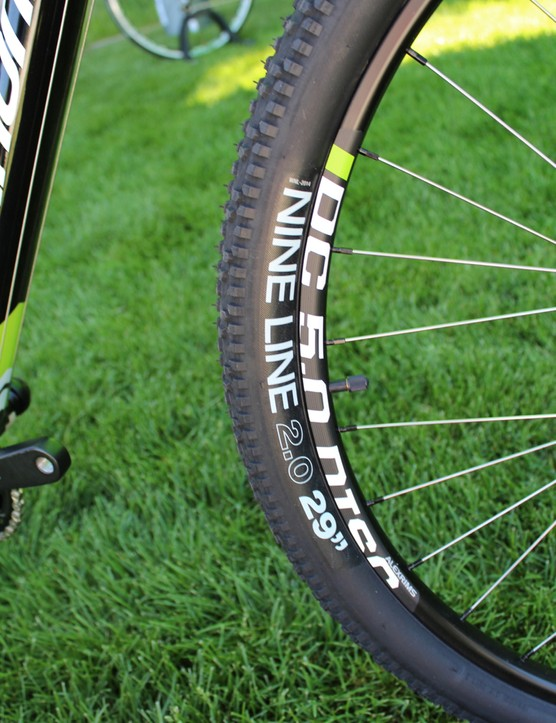 Cannondale co-designed the Nine Line tires with WTB