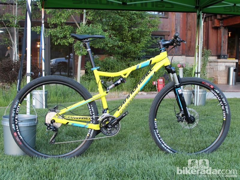 The Rush 29 is Cannondale's entry-level full-suspension 29er