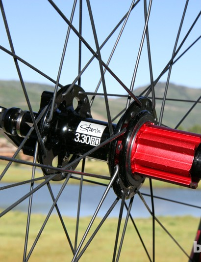 Want to run disc brakes on your Campagnolo-equipped bike? Stan's NoTubes has got you covered