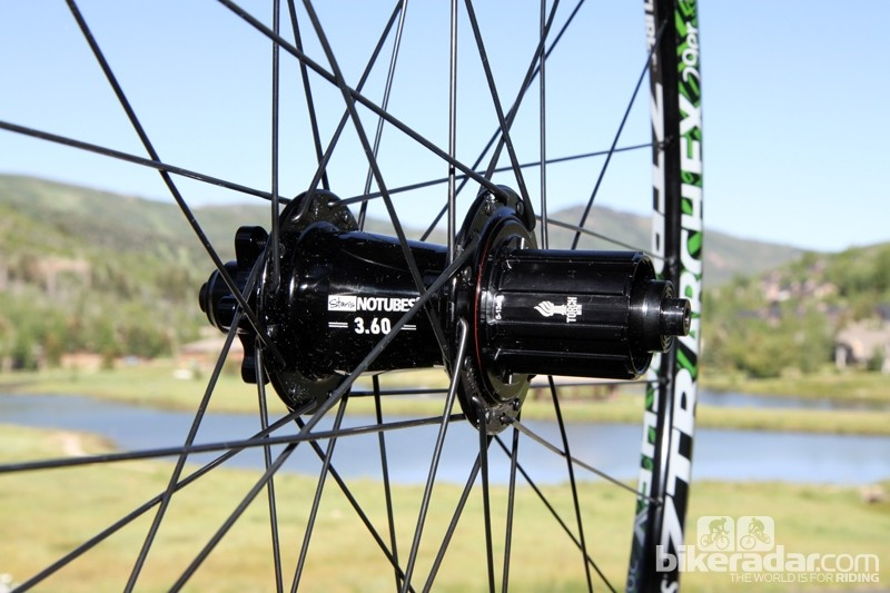 Stan's NoTubes is currently pondering a hub partnership with Industry Nine. If it goes through, you'll soon be able to buy complete wheelsets built around the company's latest Torch hubset. Be sure to let the folks at Stan's NoTubes know if you're interested