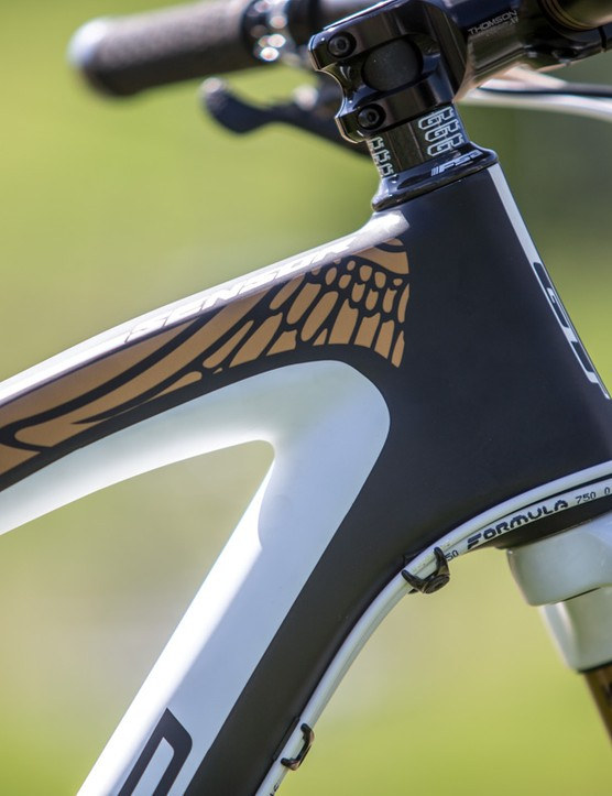 All of the GT Sensor frames include impressive graphics