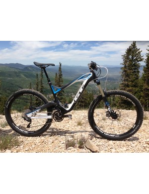 The GT Force Carbon Pro – 150mm of travel, 27.5in wheels and a triple chainset