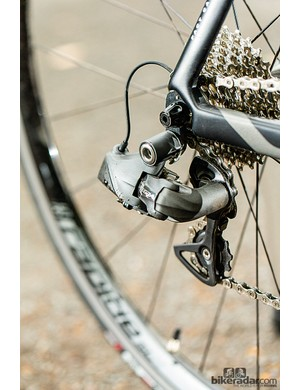 Ultegra Di2 takes the effort out of changing gear