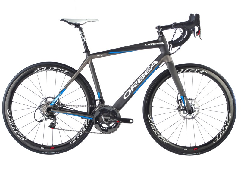 The new Orbea Avant comes ready to handle disc or rim brakes
