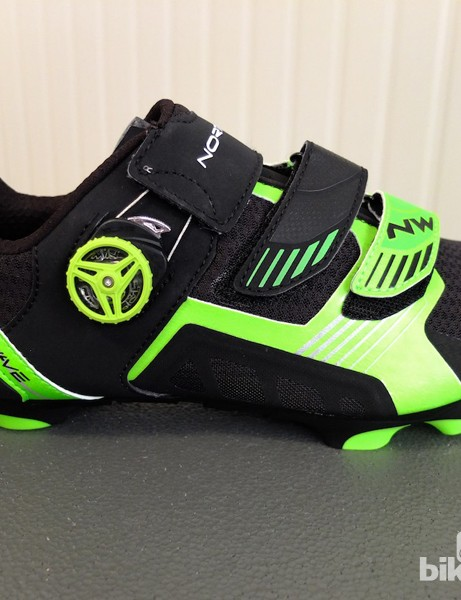 The new Northwave Nirvana MTB shoe is second in line after the Extreme Tech Plus MTB