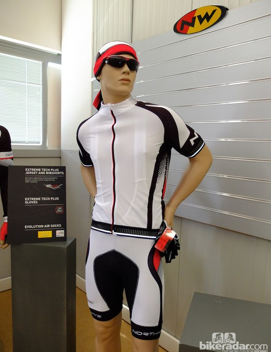 An example of Northwave's Extreme Tech Plus clothing line