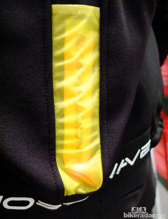 Some of Northwave's winter jackets feature a removable red LED light in a bespoke pocket
