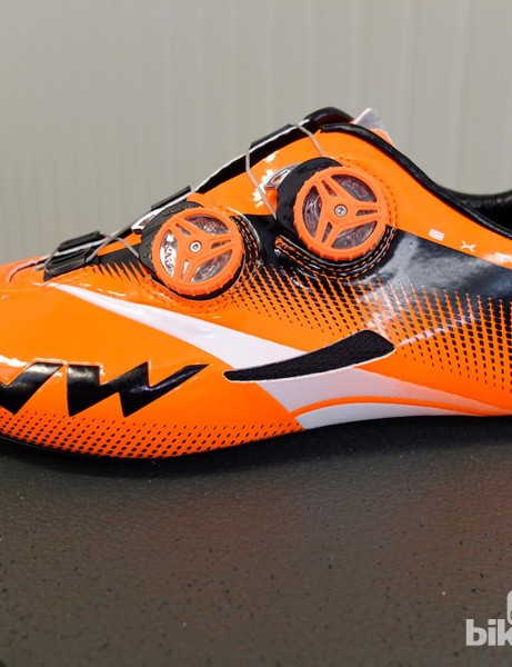 The 2014 Northwave Extreme Tech Plus road shoe