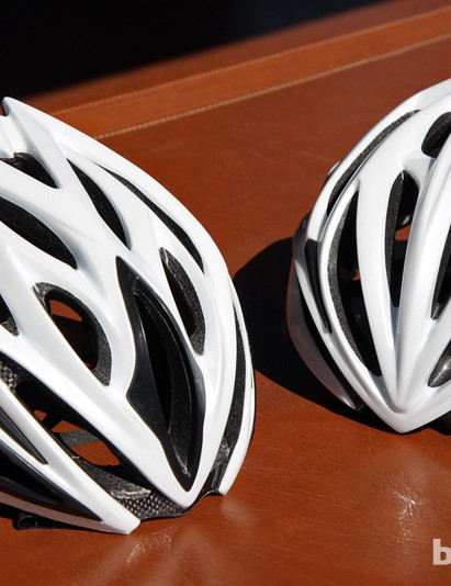 Kali is moving deeper into the road helmet market with two new models: the Phenom (left) and Loka (right)