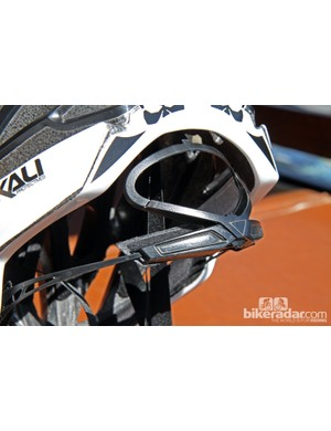 New from Kali on select helmets is a dial-type retention system for easy one-handed adjustments