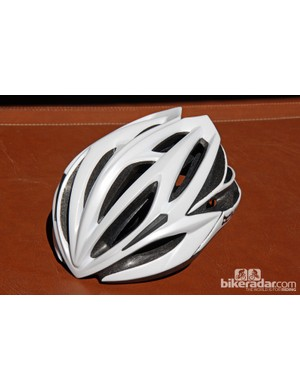 The US$99/£80 Kali Loka road helmet features Composition Fusion Plus dual-density foam construction, co-molded memory foam contact points, and an internal reinforcement cage