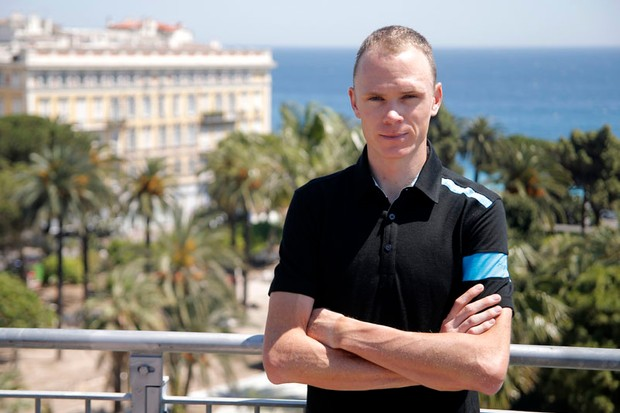 Chris Froome of Team Sky will captain the squad at this year's Tour de France