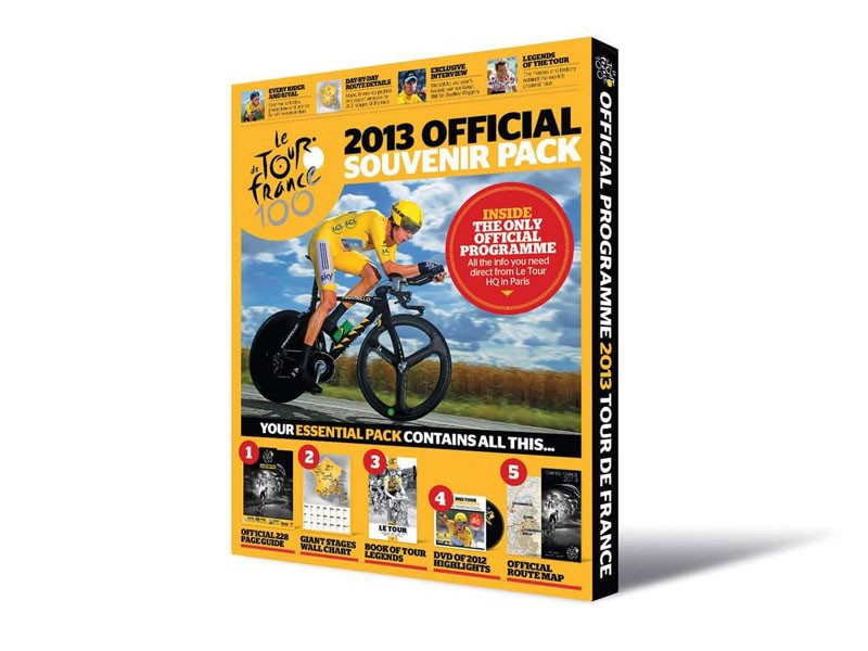 Official 2013 Tour de France guide