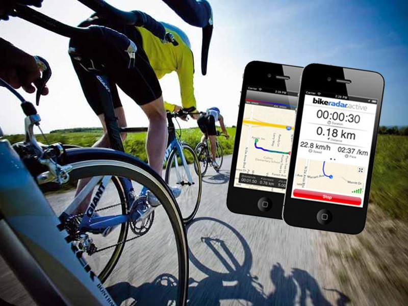 The BikeRadar Active GPS training app is now available