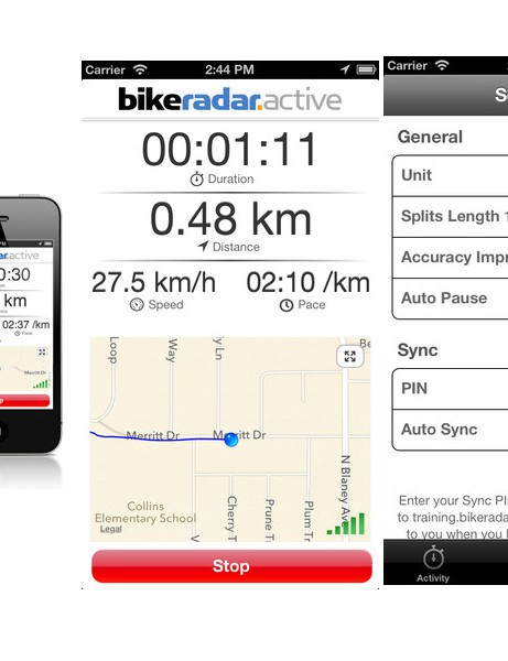 Sync your training directly to your BikeRadar Active account
