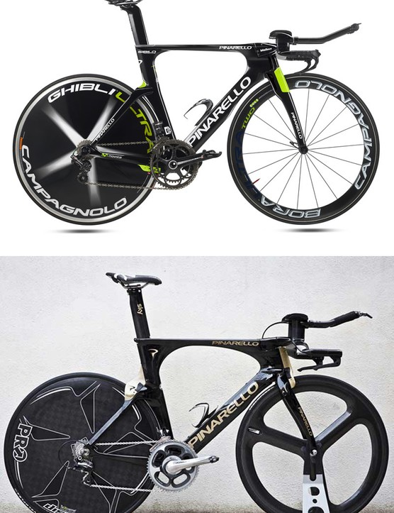 The Pinarello Sibilo and Bolide: closely related
