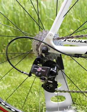 The Campagnolo Record Fenix has a pricetag of $5,295