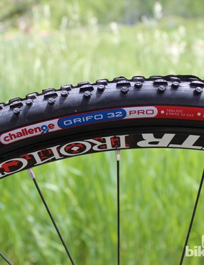The US version of the X-Night differs a bit in parts from its European counterpart. For instance, the US version gets Stan's tubeless wheels and Challenge Grifo rubber