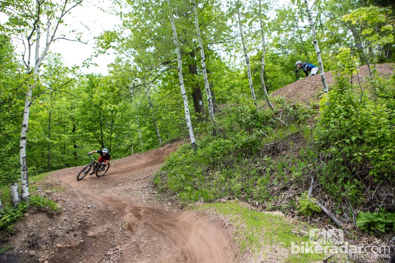 We spent several days riding both bikes on a variety of trails in around Duluth, Minnesota—check back soon for first ride reviews