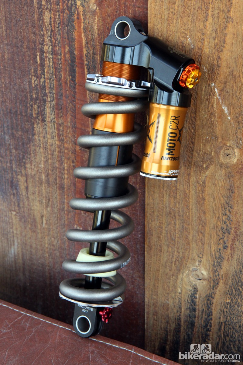 Marzocchi has finally introduced a successor to the old Roco with the new Moto C2R rear shock