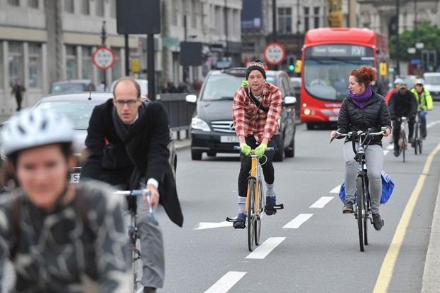 Cycling in London is booming