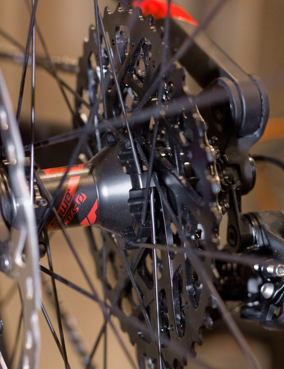 The X01 cassette offers the same 10-42T range but with more affordable manufacturing techniques