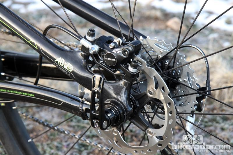 Trek's ABP system also uses concentric axle pivot, which makes it very similar to Weagle's Split Pivot