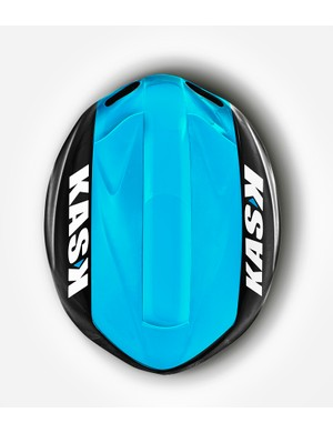 The new Kask Infinity is almost completely devoid of sharp edges. The rounded shape is said to be a key requirement for aero helmets