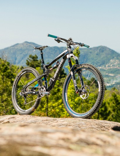 The Lapierre Spicy gets 27.5in (650b) wheels for 2014