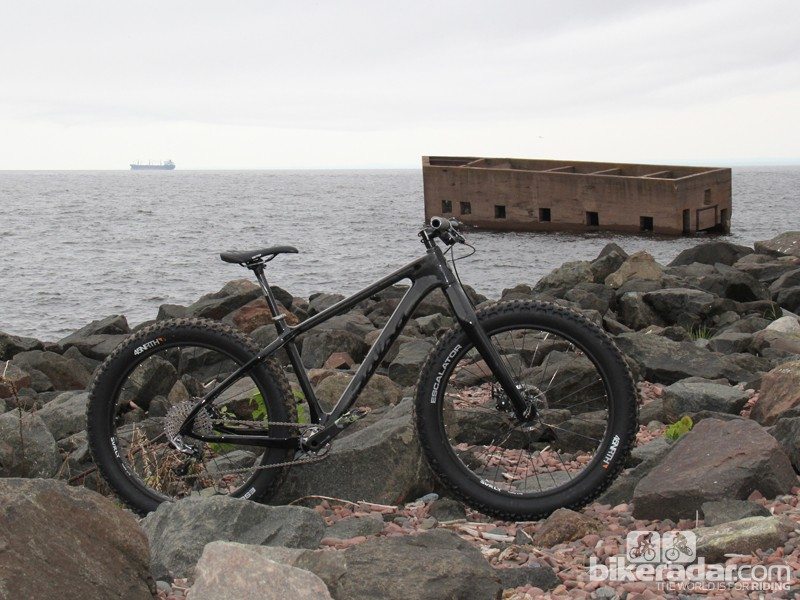 Salsa's carbon fat bike prototype incorporates a number of technologies that put it ahead of the rest of the pack