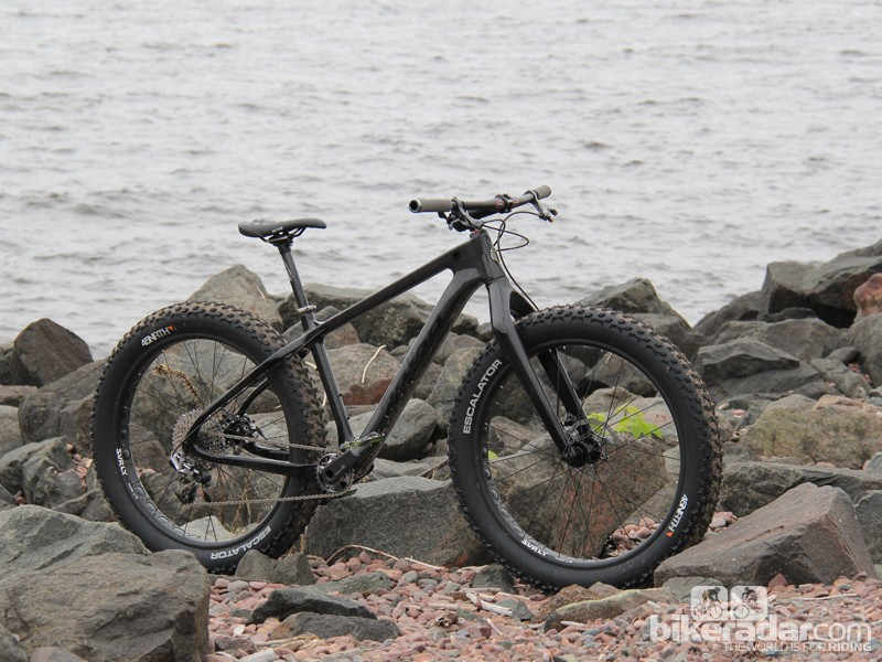 Far from chubby: this fat bike weighs 11kg (24.25lb) with pedals