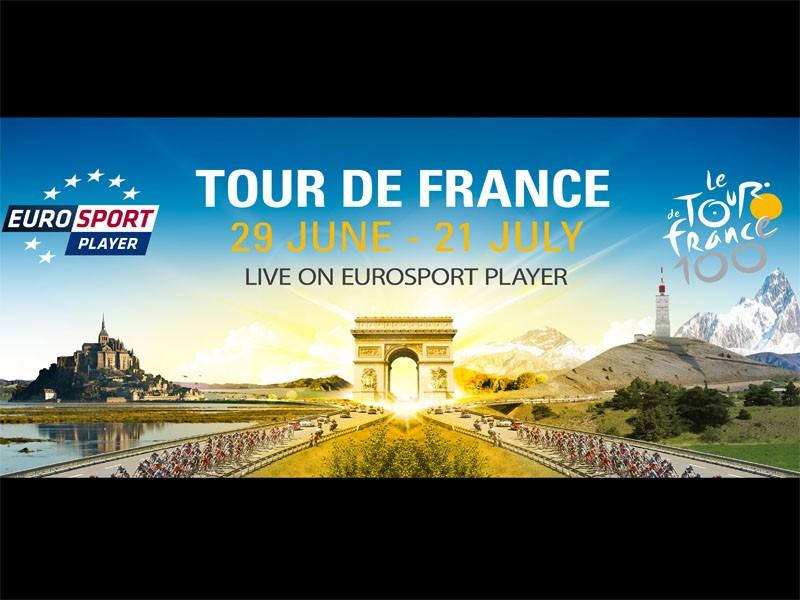 Follow the Tour de France with Eurosport