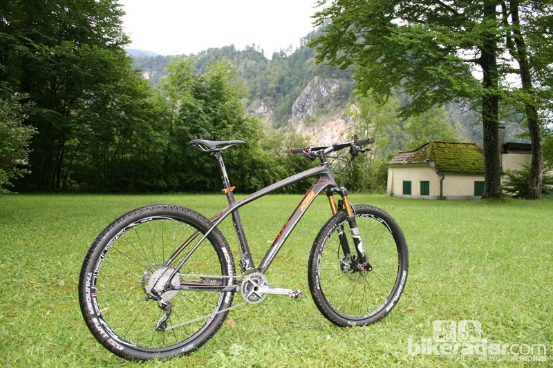 The pricier Myroon hardtail is a high-end race bike