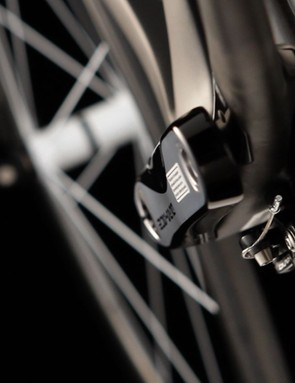 A new chainstay design will boost power for the chainstay-mounted integrated rear brake