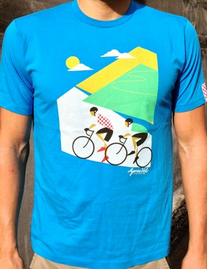The Alpe d'Huez is inspired by the mythical climb that riders will ascend twice on stage 18 of the 2013 Tour de France