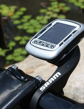 Cavendish uses a Quarq for SRAM power meter system