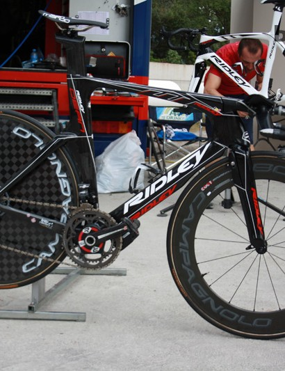 The new Ridley Dean FAST TT builds new aerodynamic technology into the Dean platform