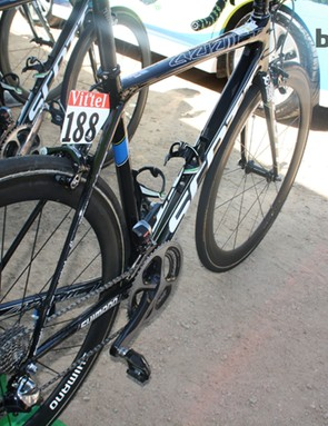 The new frame and fork weigh less than 1kg in a 54cm model, Scott claimed at the launch